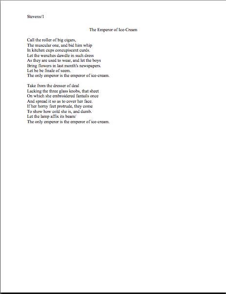 love poem format