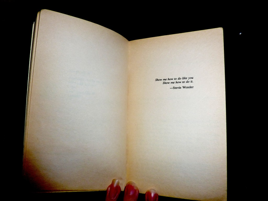 The color purple's epigraph