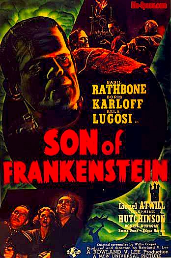 son-of-frankenstein poster