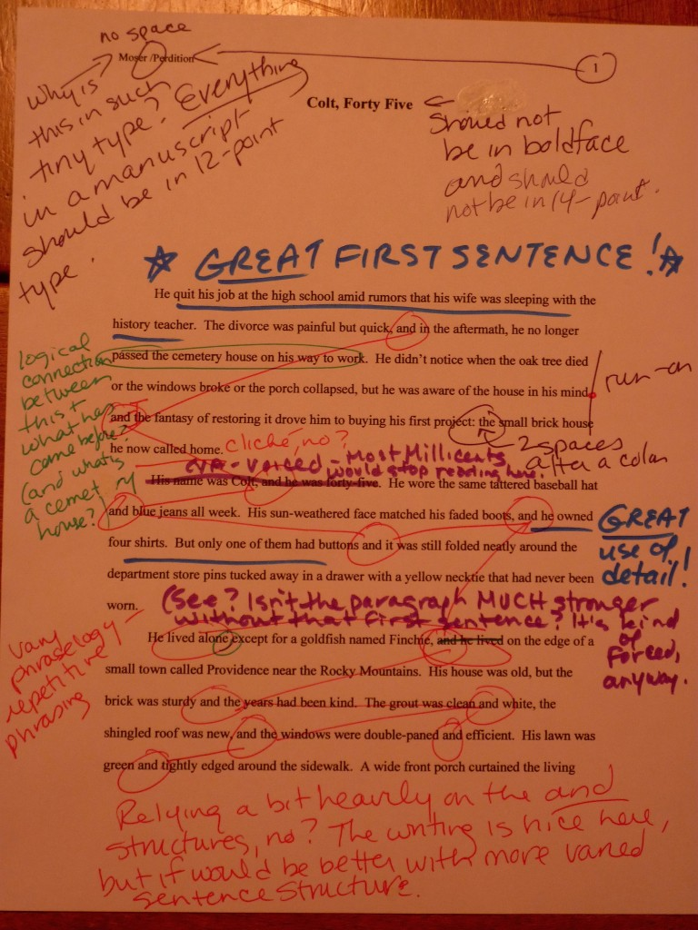 Dialogue-only scenes – Author! Author!:: Anne Mini\'s Blog