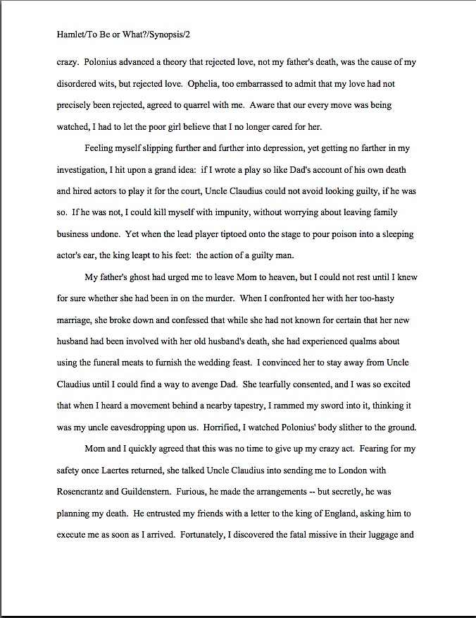Synopsis Template Word from www.annemini.com