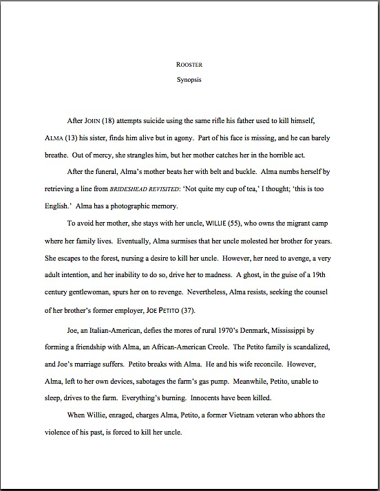Literary fiction synopses – Author! Author!:: Anne Mini\'s Blog