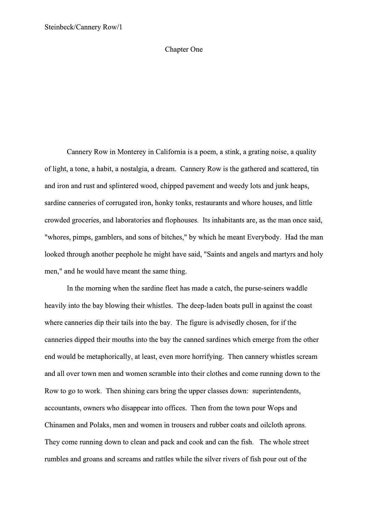 formatting for us letter size if you wrote the manuscript