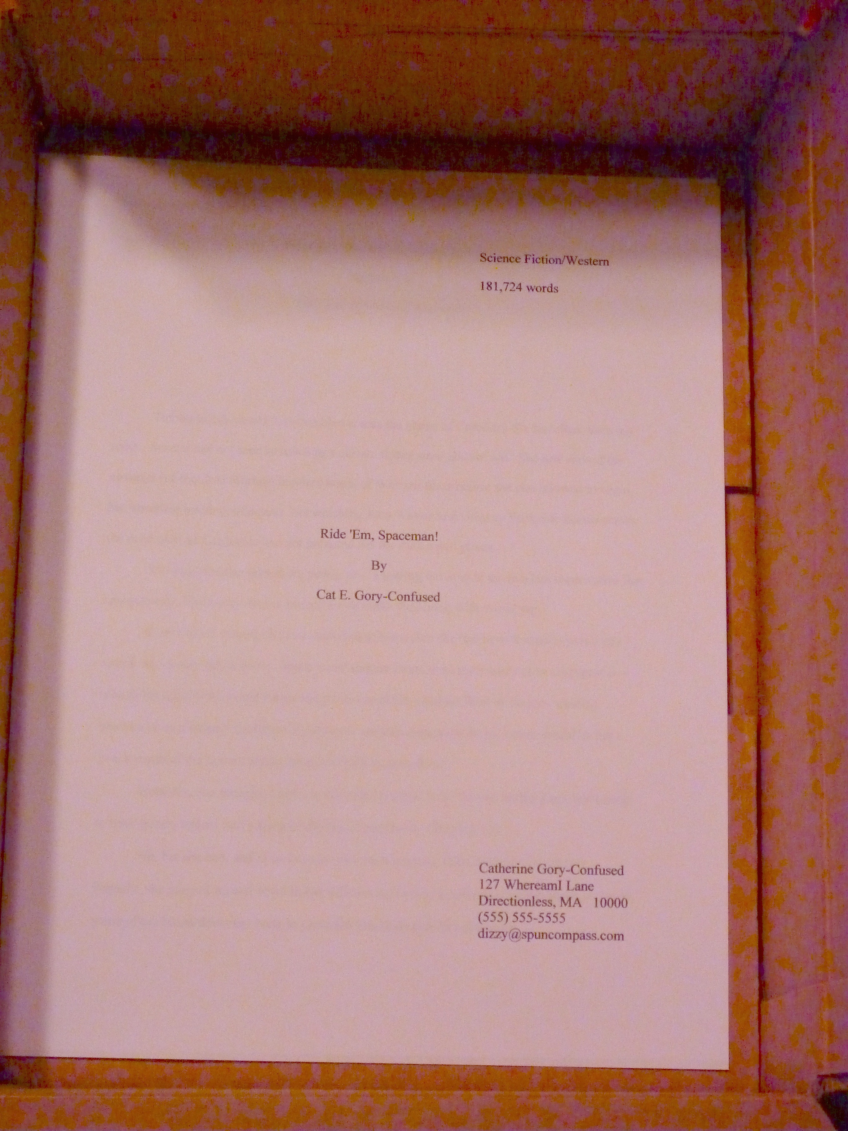 what does a title page look like in apa format