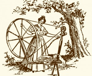 spinning lady