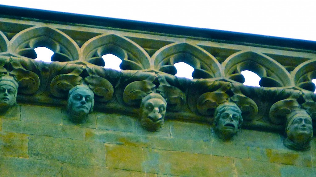 disaproving gargoyles
